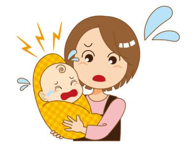 赤ちゃんが泣き止まない!そんな時どうする?チェックポイントと対処法。