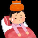 インフルエンザB型の症状と経過。(2018年3月)